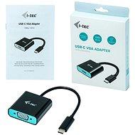 I-TEC USB-C VGA Adapter 1920x1080p/60Hz - Redukce