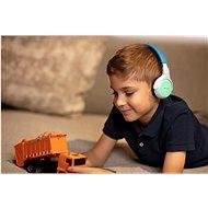 Philips TAKH402BL modrá - Bezdrátová sluchátka