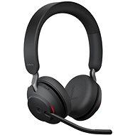 Jabra Evolve2 65 MS Stereo USB-C Black - Bezdrátová sluchátka