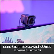 Logitech C980 StreamCam Graphite - Webkamera