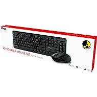 Trust Ody Wireless Silent Set - CZ/SK - Set klávesnice a myši