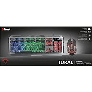 TRUST GXT845 TURAL - US - Set klávesnice a myši