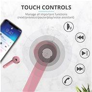 Trust Primo Touch Pink - Bezdrátová sluchátka