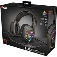 Trust GXT 450 BLIZZ 7.1 RGB HEADSET - Herní sluchátka