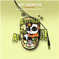 TRUST Sketch Wireless Silent Click Mouse - panda - Myš