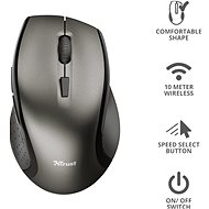 TRUST Kuza Wireless Mouse - Myš