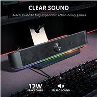 Trust GXT 619 Thorne RGB - SoundBar