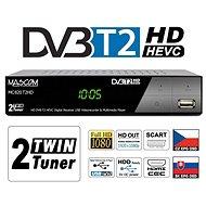 Mascom MC820 T2 HD Twin tuner H.265 HEVC - Set-top box