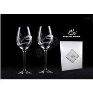 B.BOHEMIAN Sklenice na víno 360 ml GALAXY 2 ks - Sklenice na bílé víno