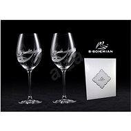 B.BOHEMIAN Sklenice na víno 470 ml GALAXY 2 ks - Sklenice na červené víno