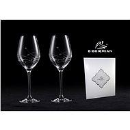 B.BOHEMIAN Sklenice na víno 360 ml GRAVITY 2 ks - Sklenice na bílé víno