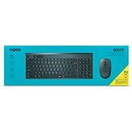 Rapoo 8050T Set - CZ/SK - Set klávesnice a myši