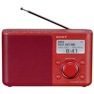 Sony XDR-S61D červený - Rádio