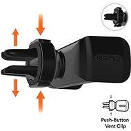Kenu Airframe Pro Black - Držák na mobilní telefon