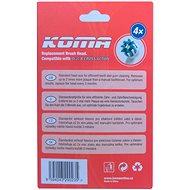 KOMA Sada 16 ks náhradních hlavic NK01 ke kartáčkům Braun Oral B Cross Action - Náhradní hlavice