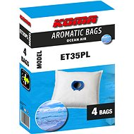 KOMA ET35PL AROMATIC BAGS OCEAN AIR, kompatibilní se sáčky ETA Unibag, 4ks - Sáčky do vysavače