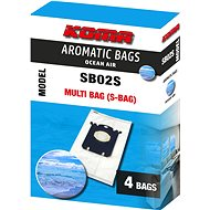 KOMA SB02S AROMATIC BAGS OCEAN AIR - Electrolux Multi Bag, 4ks - Sáčky do vysavače