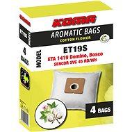 KOMA ET19S AROMATIC BAGS COTTON FLOWER - ETA Domino 1419, 4ks - Sáčky do vysavače