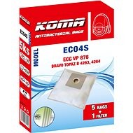 KOMA EC04S - Sada 25 ks sáčků do vysavače ECG VP 878 - Sáčky do vysavače