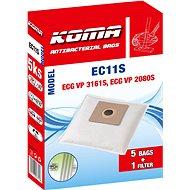 KOMA EC11S - Sada 25 ks sáčků do vysavače ECG VP 3161S - Sáčky do vysavače