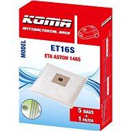 KOMA ET16S - Sada 25 ks sáčků do vysavače ETA Aston 1465 - Sáčky do vysavače