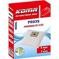 KOMA PR03S - Sada 25 ks sáčků do vysavačů Progress 3103 - Sáčky do vysavače