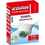 KOMA V200PL - Sada 20 ks sáčků do vysavače Vorwerk VK 200 - Sáčky do vysavače