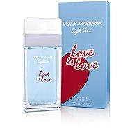 DOLCE & GABBANA Light Blue Love Is Love Pour Femme EdT 50 ml - Toaletní voda