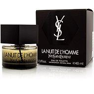 YVES SAINT LAURENT La Nuit L´Homme EdT 40 ml - Toaletní voda pánská