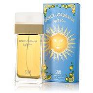 DOLCE & GABBANA Light Blue Sun EdT 100 ml - Toaletní voda