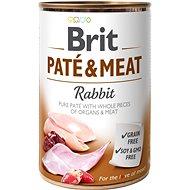 Brit Paté & Meat Rabbit 400 g  - Konzerva pro psy
