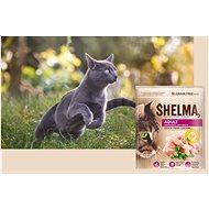 Shelma Adult bezobilné granule s čerstvým kuřecím pro dospělé kočky 750 g - Granule pro kočky