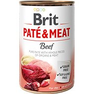Brit Paté & Meat Mix pack 6 × 400 g (Beef, Chicken, Turkey, Duck, Lamb, Venison) - Konzerva pro psy