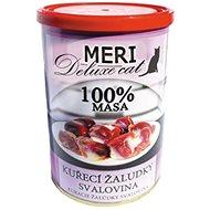 MERI deluxe kuřecí žaludky – svalovina 400 g, 6 ks - Konzerva pro kočky
