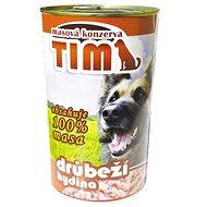 TIM 1200 g drůbeží, 4 ks - Konzerva pro psy