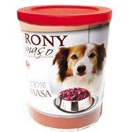 Rony maso 800 g, 8 ks - Konzerva pro psy