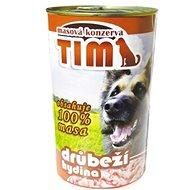 TIM drůbeží 1200 g, 8 ks - Konzerva pro psy