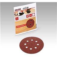 Kreator KRT230505 Sada brusných papírů G80/125mm, 5ks - Brusný papír