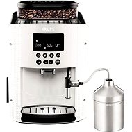 KRUPS Pisa White + XS6000 Autocappuccino EA816170 - Automatický kávovar