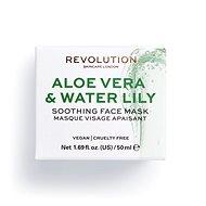 REVOLUTION SKINCARE Aloe Vera & Water Lily Soothing 50 ml - Pleťová maska