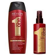 REVLON Uniq One Classic + Shampoo Set - Dárková kosmetická sada