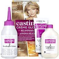 ĽORÉAL PARIS Casting Creme Gloss krémová semi-permanentní barva 810 Vanilková zmrzlina 180 ml - Barva na vlasy