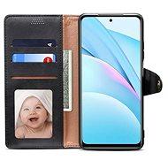 Lenuo Leather pro Xiaomi Mi 10T Lite, černé - Pouzdro na mobil