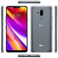 LG G7 ThinQ Platinum - Mobilní telefon