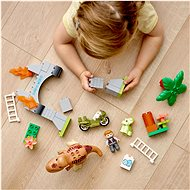 LEGO® DUPLO® Jurassic World™ 10939 T-Rex a Triceratops na útěku - LEGO stavebnice