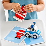 LEGO DUPLO My First 10957 Hasičský vrtulník a policejní auto - LEGO stavebnice