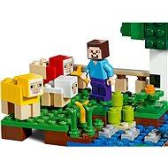 LEGO Minecraft 21153 Ovčí farma - LEGO stavebnice
