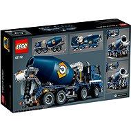 LEGO Technic 42112 Náklaďák s míchačkou na beton - LEGO stavebnice