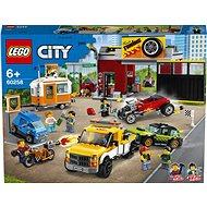 LEGO City Nitro Wheels 60258 Tuningová dílna - LEGO stavebnice