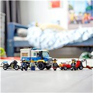 LEGO City 60276 Vězeňský transport - LEGO stavebnice